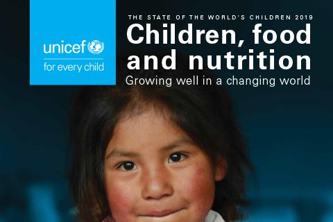 Cover photo for UNICEF State of the World's Children Report 2019