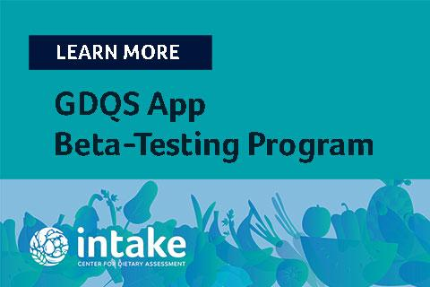 Cover of GDQS App Beta Testing Overview Doc
